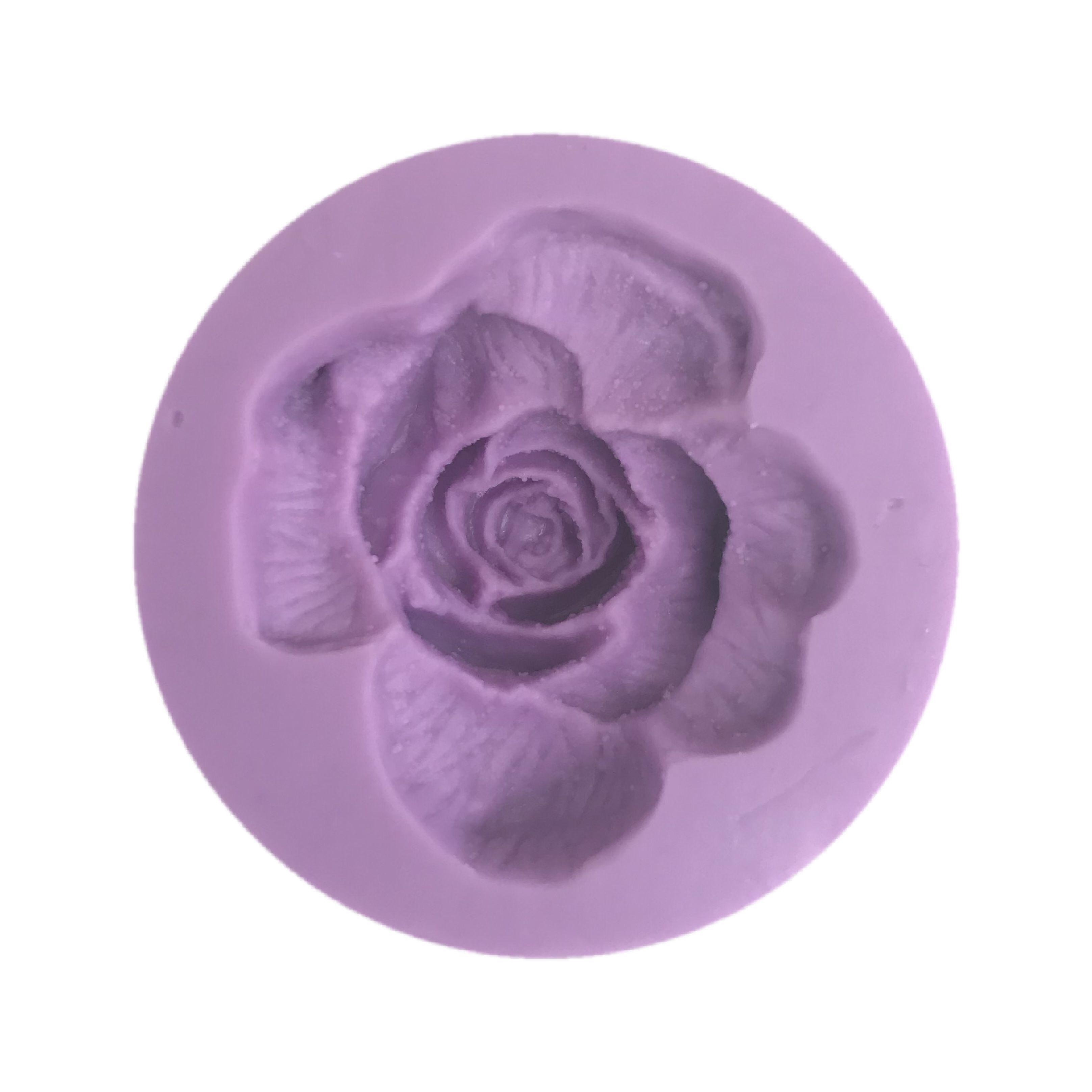 Molde de rosa