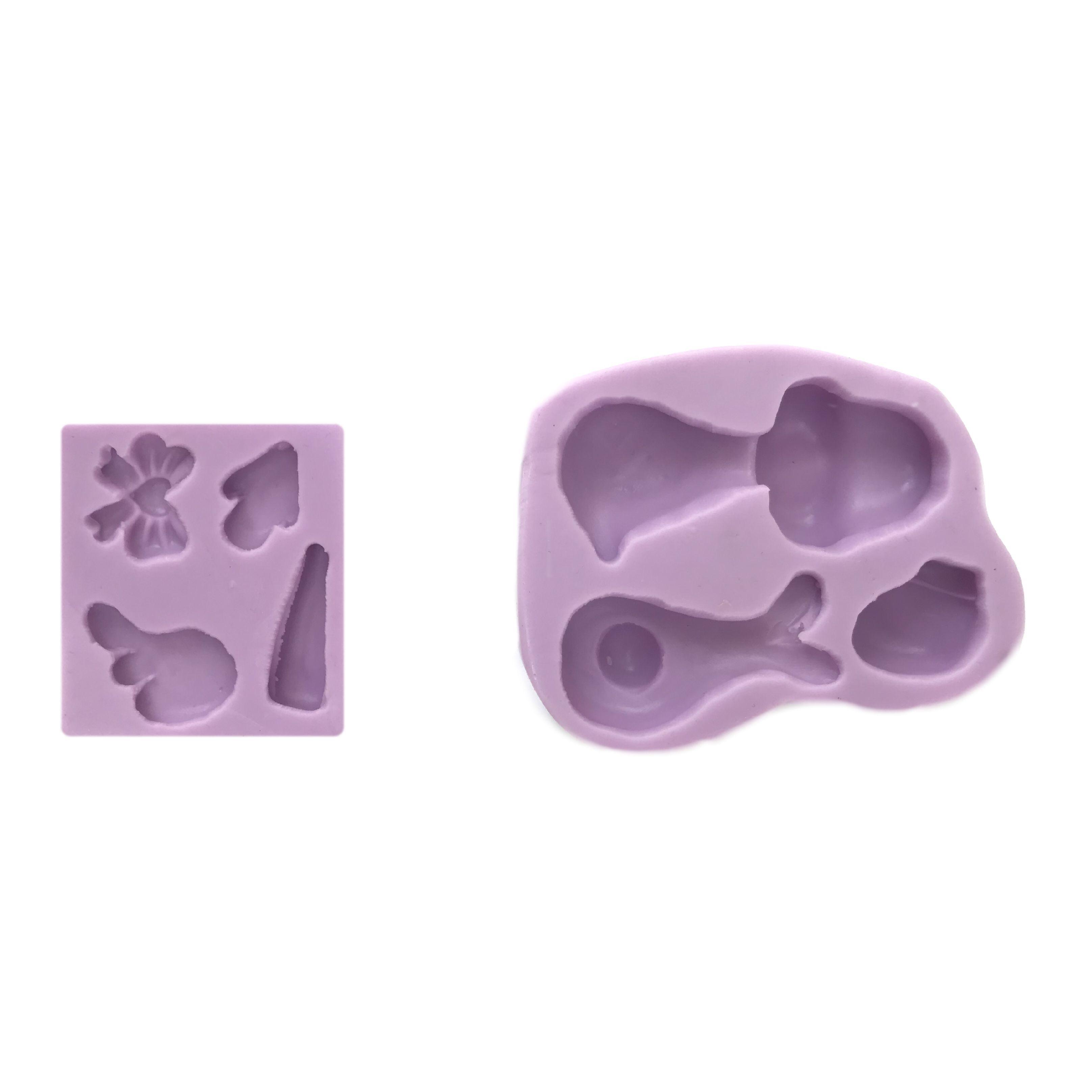 Molde en silicon de Cigueña